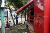 Dinas Pemadam Palembang siagakan tim  penanggulangan banjir