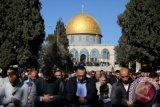 Masjid Al-Aqsha diserbu pendatang ilegal Yahudi