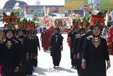 Pawai Arak Bako meriahkan  perayaan HUT Solok ke-48