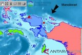 Gempa 3,7 SR guncang kabupaten Manokwari, Papua Barat