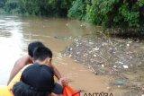 DLH uji sampel air Sungai Ogan tidak tercemar limbah