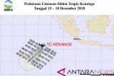 Arah pergerakan siklon tropis Kenanga menjauh dari wilayah NTT