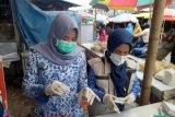 DP2 Makassar pantau harga komoditas di pasar tradisional