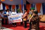 BRI serahkan CSR untuk petani serai wangi di Pasaman