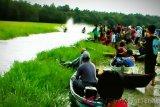 Danau Ahas disulap jadi tempat rekreasi dan balap kelotok