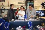 Kerajinan perak Indonesia dipamerkan di tiga kota besar China