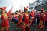 Tari massal libatkan 2.890 pelajar, arus lalu lintas Padang Aro dialihkan enam jam