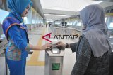 Pegawai di Palembang mulai banyak gunakan transportasi LRT