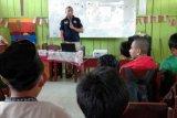 Puluhan pelajar SMP Timika ikut sosialisasi bahaya narkoba
