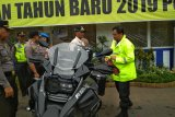 Wakapolda Jateng  supervisi pos  pelayanan dengan bersepeda motor (VIDEO)