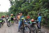 Bupati Nadalsyah tinjau rencana jalan  Desa Lemo - Simpang Batapah