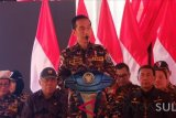 Jokowi pesan anak prajut TNI-Polri kompak