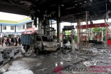 Kebakaran SPBU Abdesir Makassar akibat kelalaian