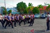 Polres Tanjungpinang gelar latihan Dalmas hadapi Pemilu
