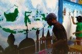 Pelajar Biak Numfor meriahkan lomba lukis mural Kemenag