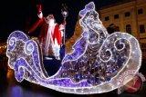 Semangat kebersamaan umat Kristiani di Rusia rayakan Natal