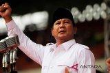 Merayakan HUT Gerindra, Prabowo singgung loyalitas kader
