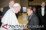 Menteri Susi audiensi dengan Paus Fransiskus, ini yang dibahas