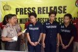 Tiga anggota komplotan begal ditangkap