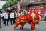 Sambut  Imlek, etnis Tionghoa Padang gelar pasar malam Sincia