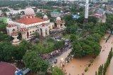 Banjir picu akses jalan poros Maros-Makassar belum lancar