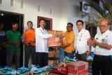 Wabup Sugianto serahkan bantuan korban bencana banjir Sikui