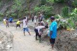 Hujan deras akibatkan tanah longsor di  Depapre