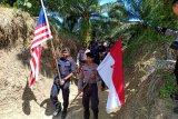 Polri-PDRM patroli bersama patok perbatasan mengimplementasikan program