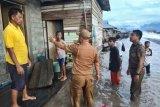 Ombak setinggi empat meter hantam pemukiman penduduk Kecamatan Bunta