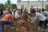 Luar biasa! Masyarakat Seruyan hibahkan tanah dan urunan membangun Pos Koramil
