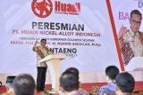 Gubernur: smelter nikel Bantaeng siap produksi 200.000 metrik ton