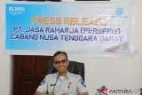 Jasa Raharja NTB serahkan santunan Rp40,14 miliar