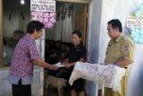 Penyaluran dana duka di Minahasa Tenggara melalui rekening