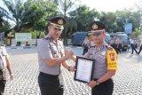 Sembilan polisi Meral raih penghargaan ungkap kasus curat