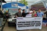 LKBN Antara Salurkan Bantuan Bagi Korban Tsunami Selat Sunda