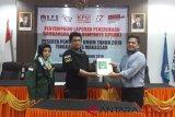 16 Parpol setorkan LPSDK di KPU Makassar