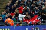 MU terus melaju, taklukkan Tottenham di Wembley