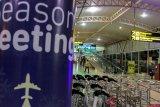 Suasana Bandara Pekanbaru Sepi Akibat Tiket Mahal (FOTO)