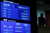 Bursa saham Tokyo ditutup lebih rendah