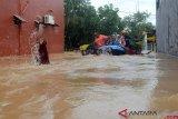Perumahan di Makassar terendam banjir