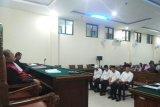 Empat terdakwa korupsi pembangunan Islamic Center Lampung Timur dituntut 18 bulan penjara