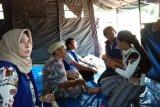 Tim Kesehatan PKBI-Dinkes Lamsel Layani Warga Terdampak Tsunami
