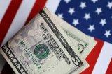 Dolar AS melemah terdorong risalah pertemuan The Fed