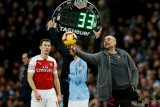 Berikut jadwal Liga Inggris, City tandang ke Arsenal