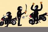 Polisi pelajari video viral percobaan pembegalan sepeda motor