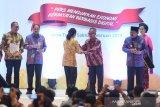 Menteri BUMN raih penghargaan anugerah peduli pers
