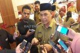 Evaluasi target pembangunan hingga triwulan kedua, kata Sekda Kalteng
