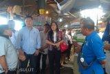 Komisi II DPRD Manado turlap Pasar Tradisional Bersehati