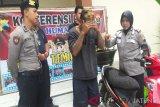 Polres Temanggung ringkus residivis pencurian motor di Cikarang