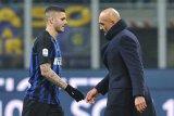 Icardi tolak ikut Inter ke Wina karena bBan kapten dicopot